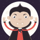 Little Boy in Vampire Costume - GraphicRiver Item for Sale