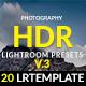 Photography HDR-(V.3) Lightroom Presets