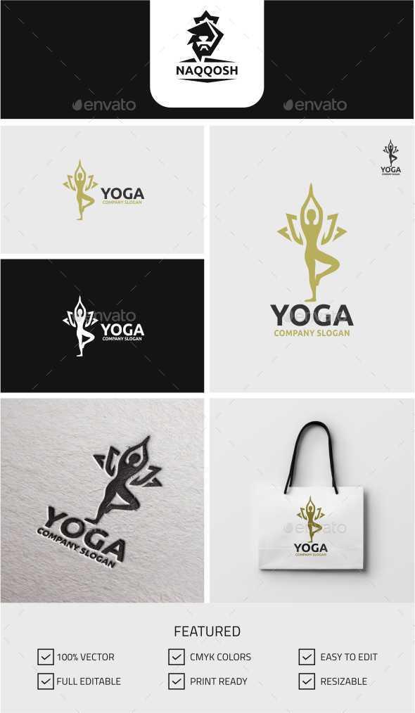 Yoga - Humans Logo Templates