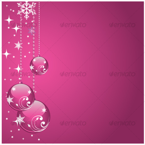 Pink balls - Christmas Seasons/Holidays