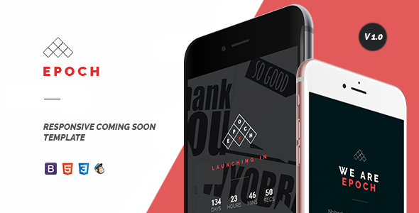 Epoch – Coming Soon Template