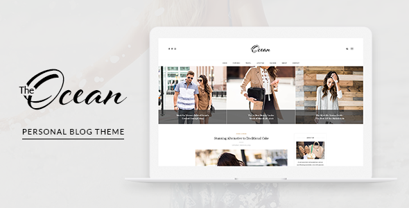 Ocean – Personal Blog WordPress Theme