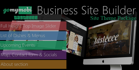 gomymobiBSB's Site Theme Package: Tasteeee - CodeCanyon Item for Sale