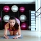 Fitness Girl In The Gym - VideoHive Item for Sale