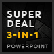 3-in-1 SuperDeal PowerPoint Bundle  - GraphicRiver Item for Sale