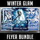 Winter Glam Flyer Bundle - GraphicRiver Item for Sale