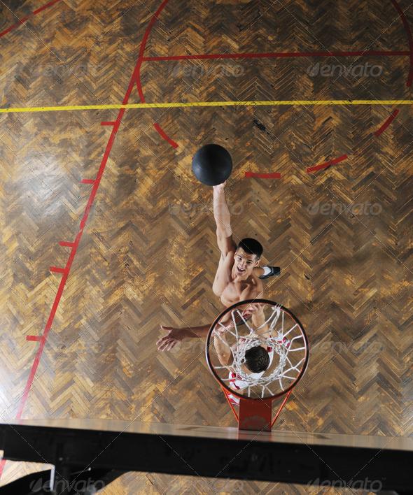 magic basketball - Stock Photo - Images