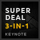 3-in-1 SuperDeal Keynote Bundle - GraphicRiver Item for Sale