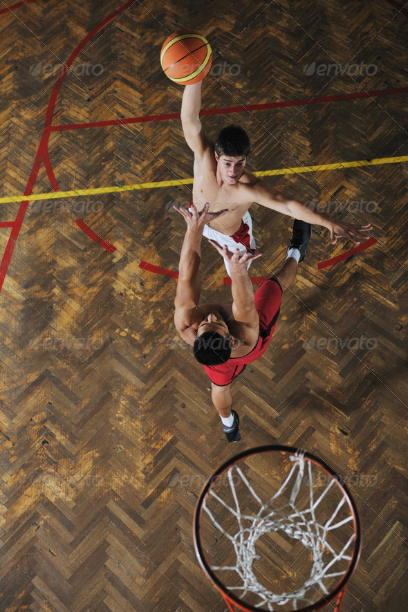 magic basketball - Stock Photo - Images