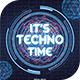 It's Techno Time Flyer Template - GraphicRiver Item for Sale