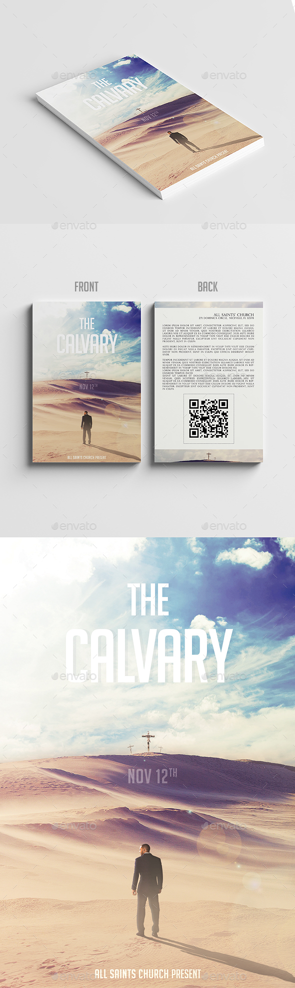 The Calvary - Church Flyers