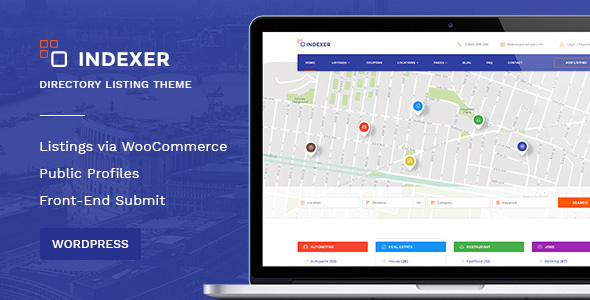 WordPress Classified Ads Marketplace Theme  – Indexer