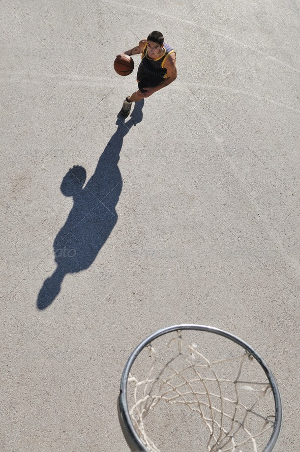 street basketball - Stock Photo - Images