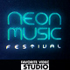 Neon Music Event - VideoHive Item for Sale