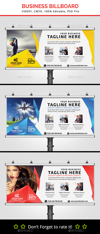 Beauty Salon Billboard V11 - Signage Print Templates