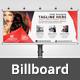 Beauty Salon Billboard V11 - GraphicRiver Item for Sale