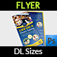 DL Fitness Flyer Template - GraphicRiver Item for Sale