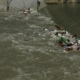 City River Polluted With Garbage - VideoHive Item for Sale