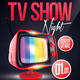 TV Show Night Flyer Template - GraphicRiver Item for Sale