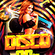 Disco 90s Flyer - GraphicRiver Item for Sale