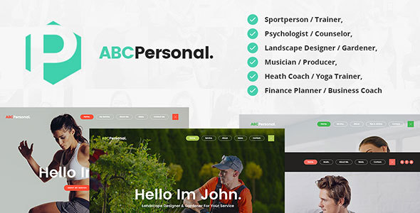 ABC Personal – Trainer / Psychiatrist / Gardener / Musician / Business & Health Coach