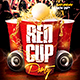 Red Cup Party Flyer V1 - GraphicRiver Item for Sale