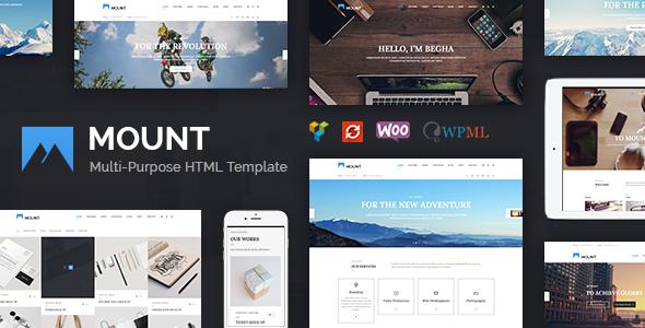 Mount – Creative Multi-Purpose HTML5 Template