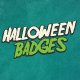 Halloween Badges & Extras Vol.1 - GraphicRiver Item for Sale