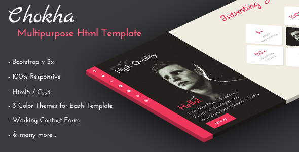 Chokha – Multipurpose Html Template