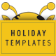 Holidays Instagram Templates - GraphicRiver Item for Sale