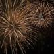Fantastic Spectacular Fireworks On Black Background - VideoHive Item for Sale