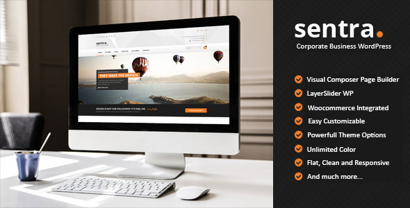 Sentra – Corporate Multipurpose WordPress Theme