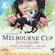 Melbourne Cup Flyer Templates - GraphicRiver Item for Sale