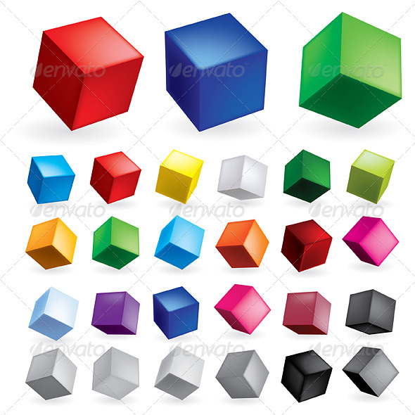 Cubes - Patterns Decorative