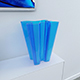 Bye-Bye Vase (Blue Glass) - 3DOcean Item for Sale