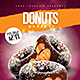 Donuts Madness Flyer - GraphicRiver Item for Sale