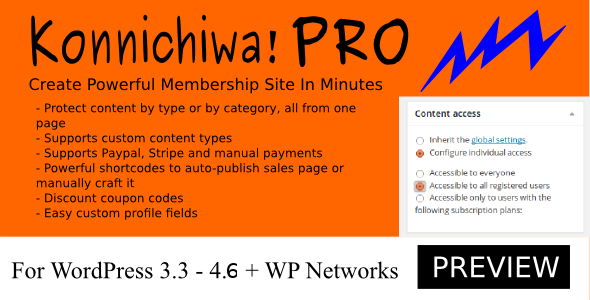 Konnichiwa! Pro - CodeCanyon Item for Sale