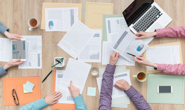 Business teamwork - Stock Photo - Images