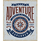 Vintage Great Adventure Typography - GraphicRiver Item for Sale