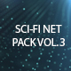 Sci-Fi Net Backgrounds Volume 3 - VideoHive Item for Sale