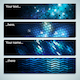 Glowing Mosaic Labels - GraphicRiver Item for Sale