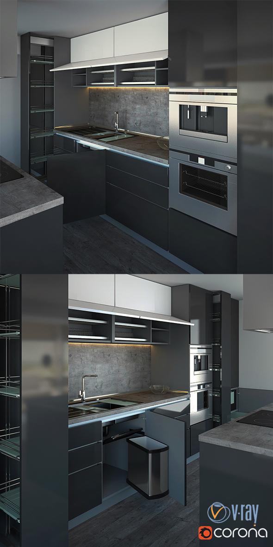 Kitchen vol.04 - 3DOcean Item for Sale