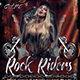 Rock Riders Flyer Template - GraphicRiver Item for Sale