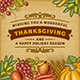 Thanksgiving Vintage Card - GraphicRiver Item for Sale