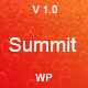 Summit -  Event And Conference WordPress Theme Nulled