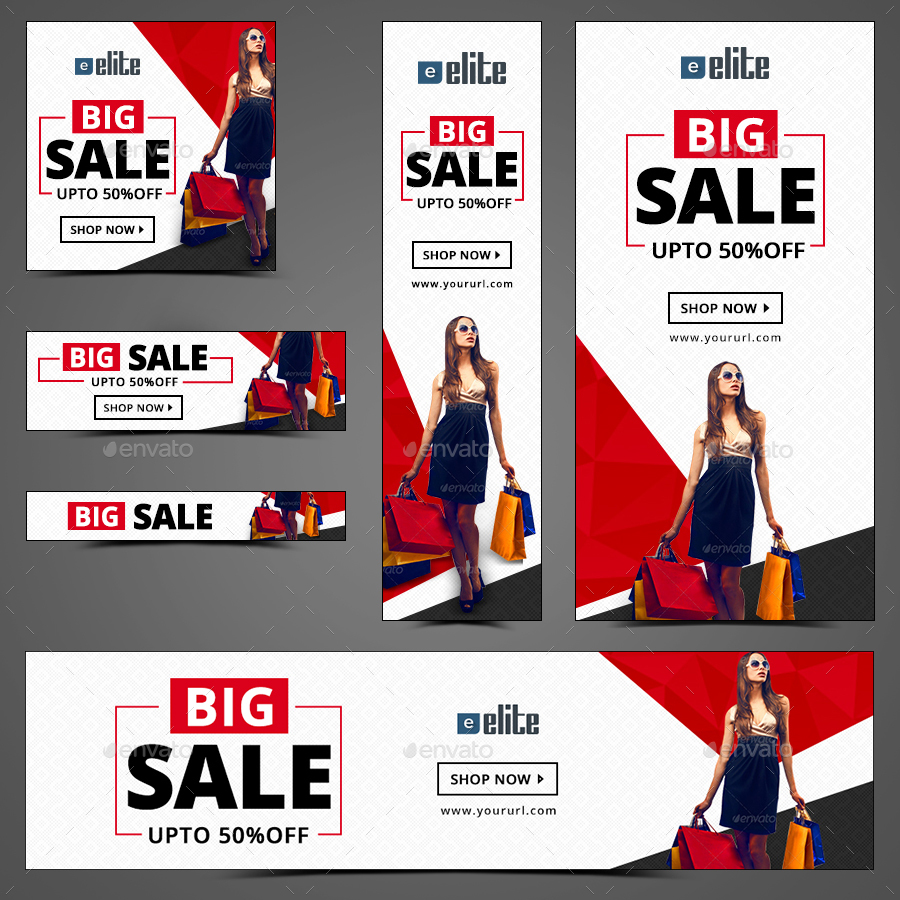 Big Fashion Banners By Doto  Graphicriver. Evil Logo. Oregon University Banners. Outdoor Vinyl Banners. Discharge Signs. Childrens School Murals. Dancer Signs. Red Death Logo. Latex Signs Of Stroke