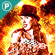 Fire Art Photoshop Action - GraphicRiver Item for Sale