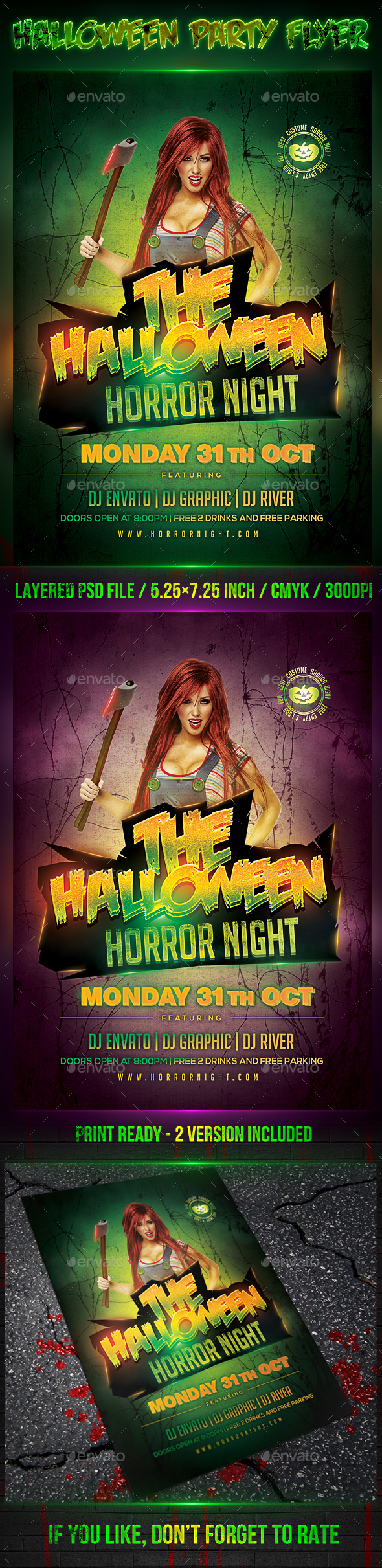 Halloween Party Flyer 2016 - Clubs & Parties Events