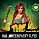 Halloween Party Flyer 2016 - GraphicRiver Item for Sale
