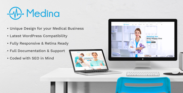 Medical Medina | Medical Responsive Health Dentist Template